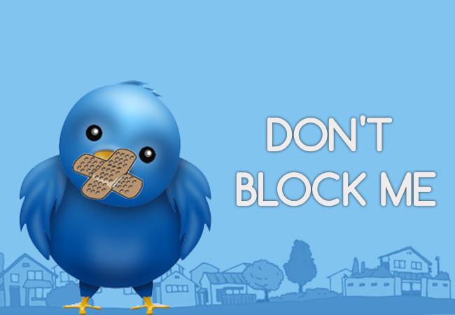 Melihat Tweets orang yang nge Block akun kita di Twitter