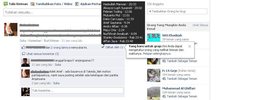 Fitur baru di Facebook Group