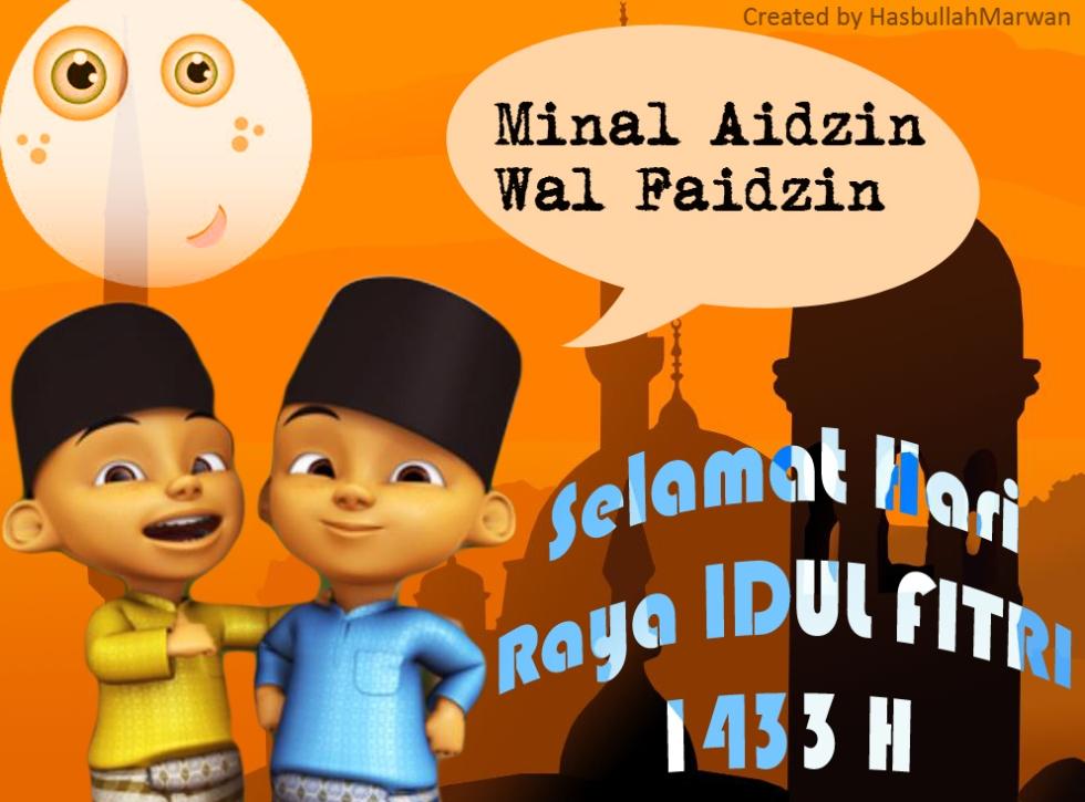Sepotong kata Hari Raya Idul Fitri 1433