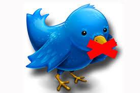 fungsi twitter di block