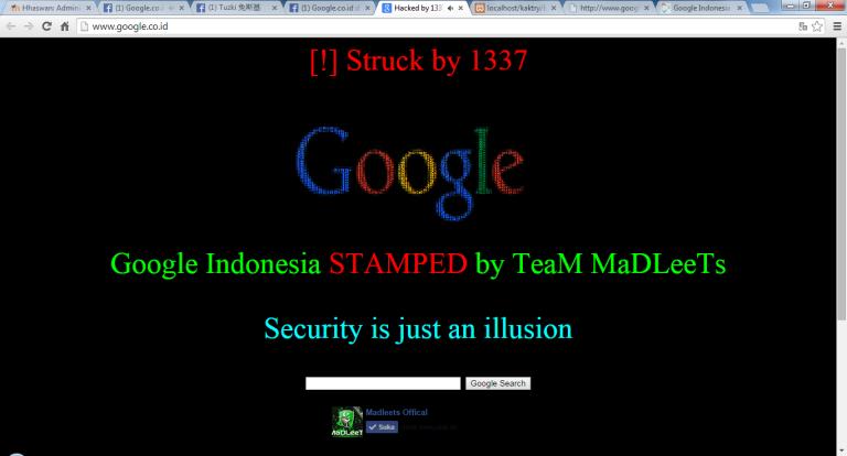 """Google.co.id di hack di hari """"Idul Adha"""""""